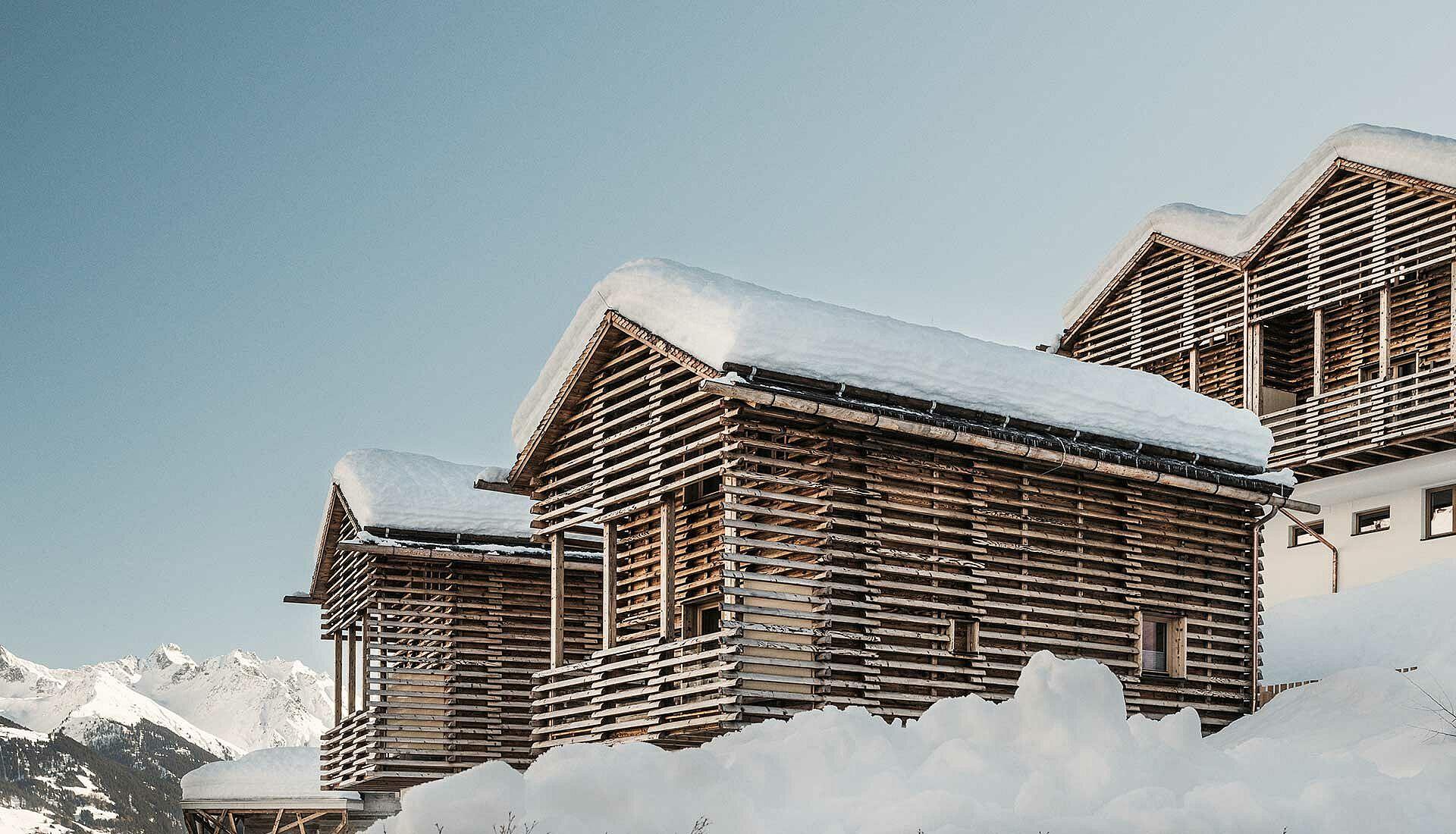 Holzbauweise Chaletdörfer bauen