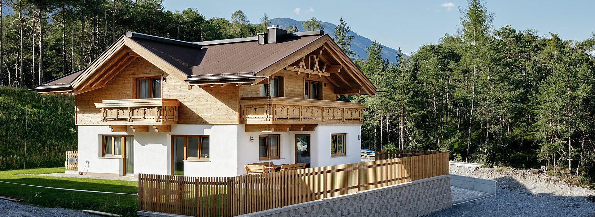 Riegelhaus  – modernste Bautechnik