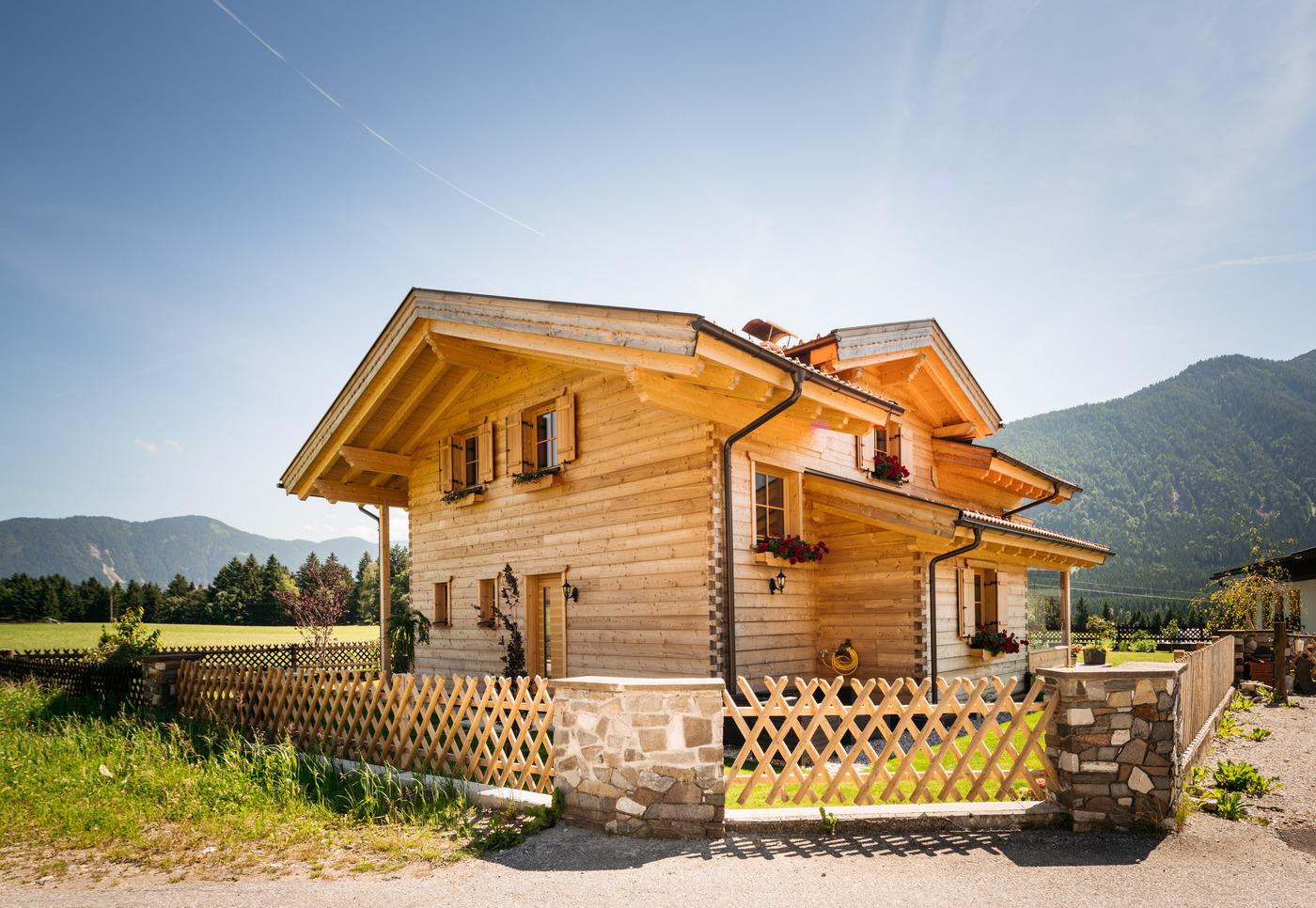 Blockhaus Bauen Tiroler Blockhaus Blockhausbau
