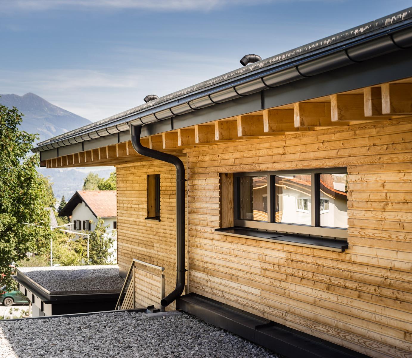 Massivholzhaus Bauen / Bau Tiroler Massivhaus Aus Holz