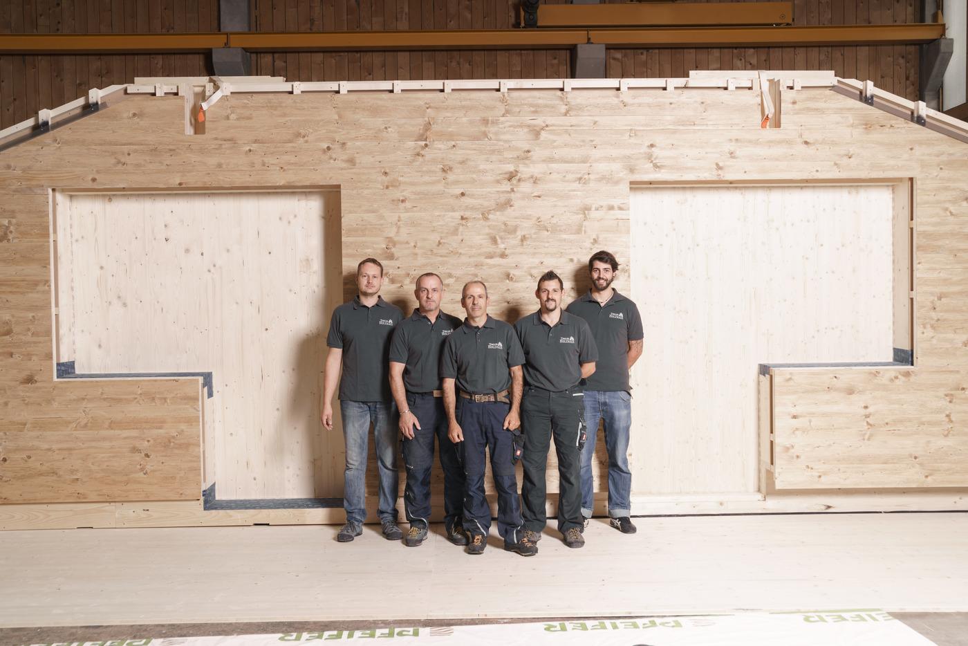 Mitarbeiter / Team / Tiroler Holzhaus GmbH
